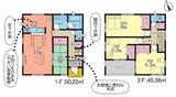 (内観/間取り1)姶良市平松6282-1、1,899万円の売家