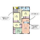 (内観/間取り1)薩摩川内市中郷4丁目72-1、2,399万円の売家