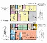(内観/間取り1)姶良市平松4716-1、2,099万円の売家